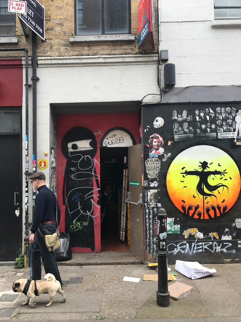 """The Believers"" in Shoreditch"