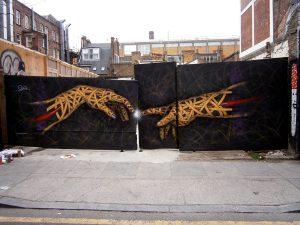 Otto Schade - You Got the Power in Hanbury Street, London