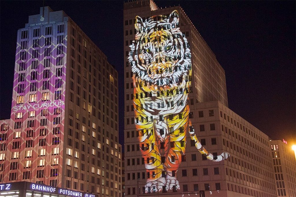 Otto Schade - Festival of Lights Berlin 2018