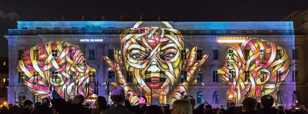 Otto Schade @ Festival of Lights Berlin 2019