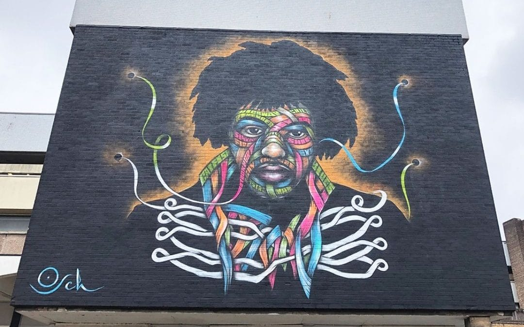 """""""Jimi"""" by Otto Schade, Stockport (England)"""